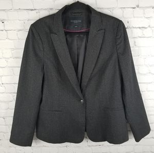 KENNETH COLE | single button blazer